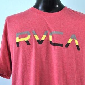 Muted Red T-shirt tee Rvca Surf Skate Artist